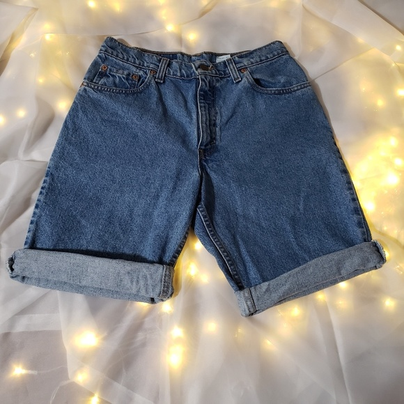 Levi's Pants - Levi 505 denim shorts